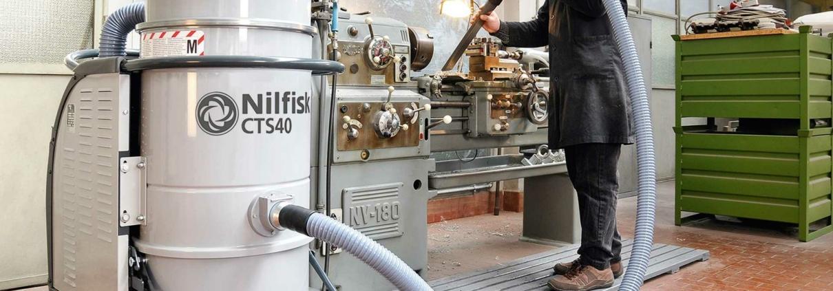 Vysavače průmyslové Nilfisk