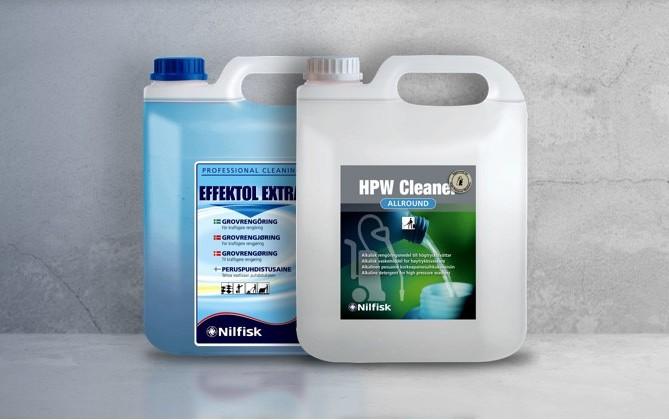 čistící prostředky chemie