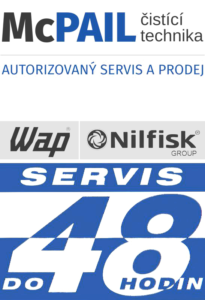 čistící a úklidová technika McPAIL logo