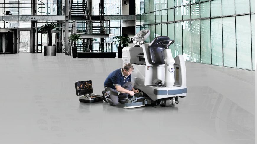 Servis a údržba čistící a úklidové techniky